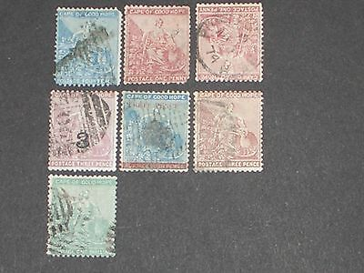 Queen Victoria Cape of good hope stamps