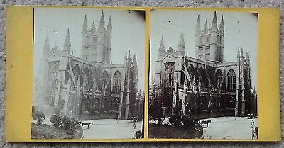 Stereoview of Bath Abbey