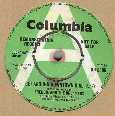 Freddie & The Dreamers**get Around Downtown Girl**demo**listen To It