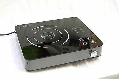 Silvercrest Portable Glass Induction Hob / Hot plate, 2000W Touch control
