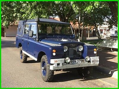 1974 Land Rover Other Ministry of Defense 109 Series III 1974 Ministry of Defense Land Rover 109 Series III Soft Top, Totally Restored,