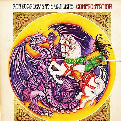 "BOB MARLEY & THE WAILERS ""Confrontation"" Jamaican issue (Rita Marley music)"