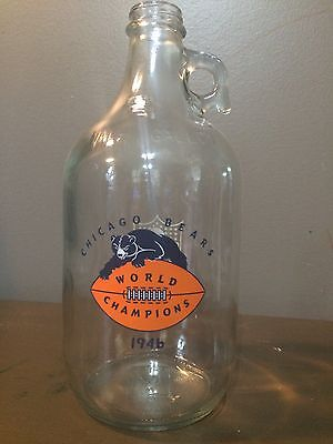 Chicago Bears 1946 NFL Champions One Gallon Jug