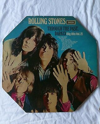 Rolling stones mono through the past darkly 1A 3A 1st issue