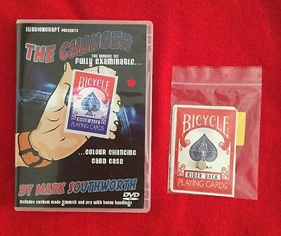 THE CHANGER by Mark Southworth Card Magic Trick. Supplied From ILLUSIONCRAFT
