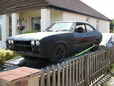 ford capri 2.8 unfinnshed project with v5