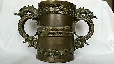 very rare Antique chinese bronze vase bowl incense???