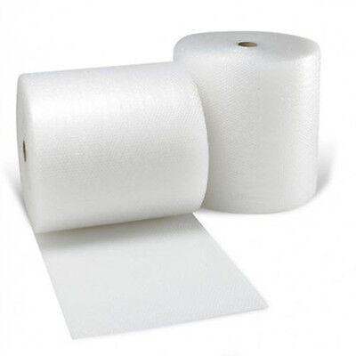 Bubble Wrap 2 ROLLS OF 500mm x 75 M Small Bubble-New!