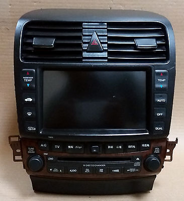 Honda Inspire DBA-UC1 Climate controller & Navigation system oem Jdm Used
