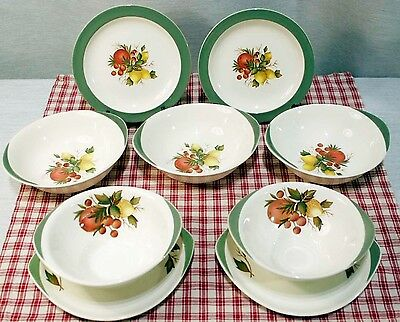LOT Wedgwood COVENT GARDEN 2 Bread plates, 3 cereal bowls, 2 soup bowls.  EXC+!