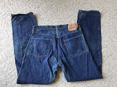 VTG Levi's NOT big e Single Stitch 501 Jeans 34x32