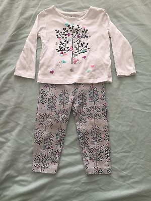 Gap Top And Leggings Outfit 12-18 Months
