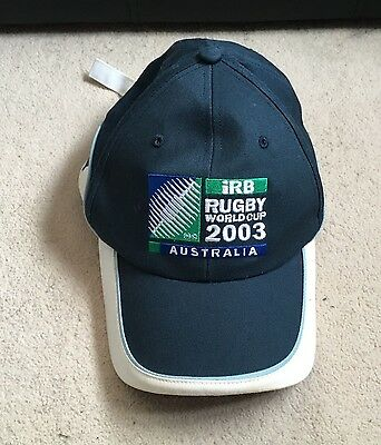 Official IRB Rugby World Cup 2003 Australia Childrens Cap- Rare- Scotland Rugby