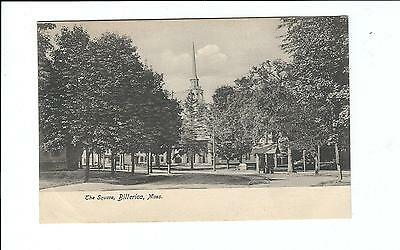 Billerica, MA Postcard  The Square