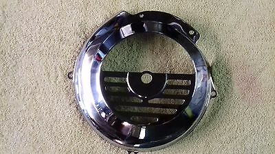 Vespa V90 Primavera 125 ET3 50 Special PK Polished Stainless Flywheel Cover