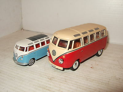 Hongwell VW Combi/Microbus Diecast Model in 1:43 Scale & Mini version Free.