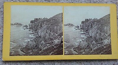Stereoview of The Land's End, Cornwall
