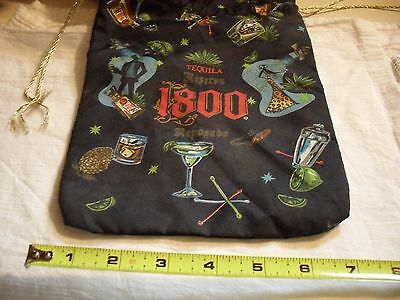 Cuervo 1800 tequilla advertising cinch bag