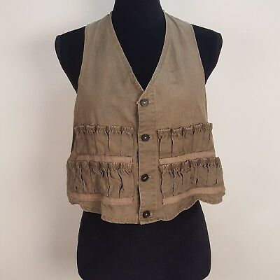 VTG 50s 60s Abercrombie & Fitch Falcon Brand Hunting Vest Fishing