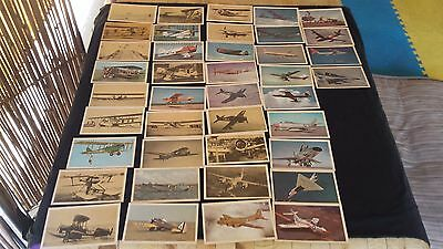 Vintage Aircraft set of 40 Postcards From Wright to Convair Nice