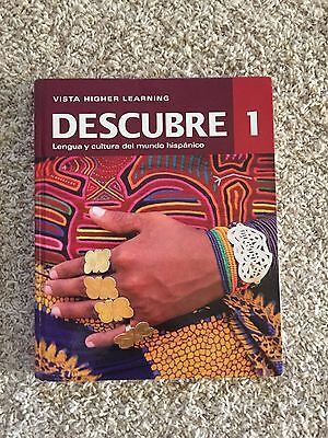 Descubre 1 (2012, Hardcover, Revised, Student Edition of Textbook)