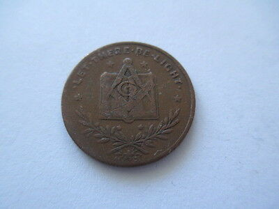 Freemason Token Let There Be Light