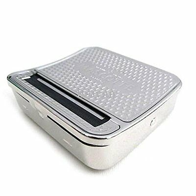 Tobacco Roller Box Rolling Machine Stainless Steel Case 70mm Cigarette Smoking