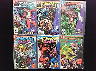 SPANNER'S GALAXY Lot of 6 DC Comic Books - Complete Set #1 2 3 4 5 6!