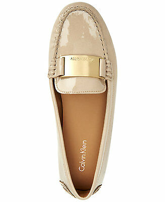 29b267ee0a4 Calvin Klein Lisette Cocoon Soft Patent Women s Flat Slip On Shoes Multisize