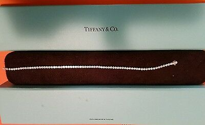Tiffany & Co. Jazz Bracelet Platinum with Round Brilliant Diamonds