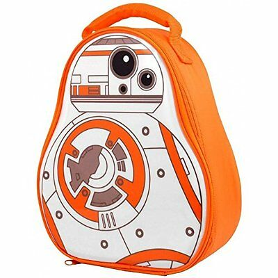 Star Wars BB8 Shaped Insulated Lunch Bag/Box