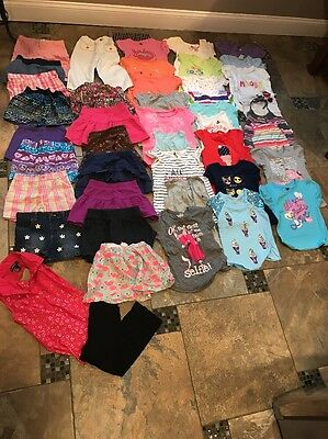 Girls Summer Clothes Lot Size 5