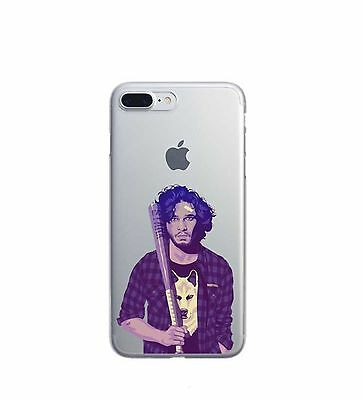 Super Thin Soft TPU Game of Thrones Jon Snow Phone Case for iPhone 7