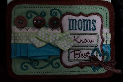Boyds' Bears Gift Tag For Hugs N' Such Bears-Applique-Patch-Attachment-Mom
