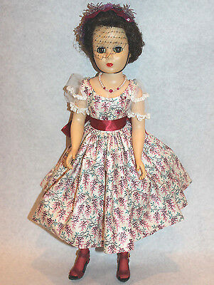 "1957 American Character Doll Sweet Sue Sophisticate 20"" Walking rare brunette"