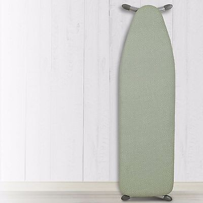 """54""""x15"""" NWT-Heat Reflective Ironing Board Replacement Pad and Cover-Green/White"""
