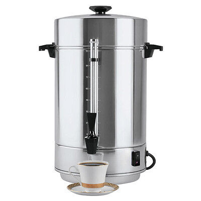 West Bend 58001R 101 Cup (3.9 Gallon) Regal Aluminum Coffee Maker Coffee Urn