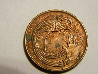 1994 Ireland 1 Cent Penny ----Lot #2,428