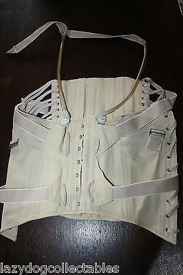 Genuine Original Ladies Corset Steampunk Metal bones Excellent condition