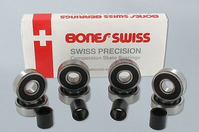Bones Swiss Skateboard Bearings