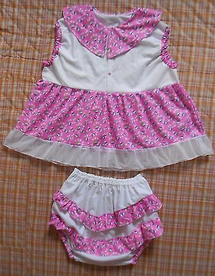Adult  Baby  Sissy Little Dress  Set  Abdl Fancy Set