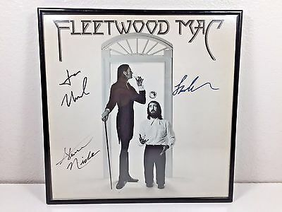 Fleetwood Mac Autographed Signed LP Vinyl Framed