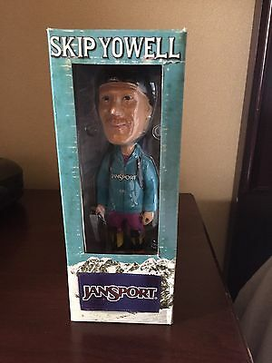 Jansport Backpack Co-Founder Skip Yowell Bobblehead Collectible Figure NEW NIB