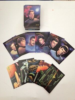 Star Trek: Master Series One (Skybox, 1993) - 90 cards + Spectra insert set (5)