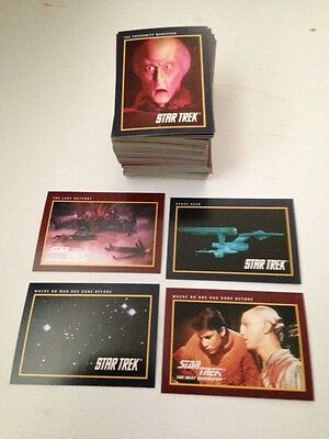 Star Trek 25th Anniversary Set (Impel, 1991) - 160-card set