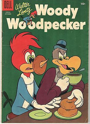 PRICED TO SELL! Dell, Walter Lantz, Woody Woodpecker #32 (1955)