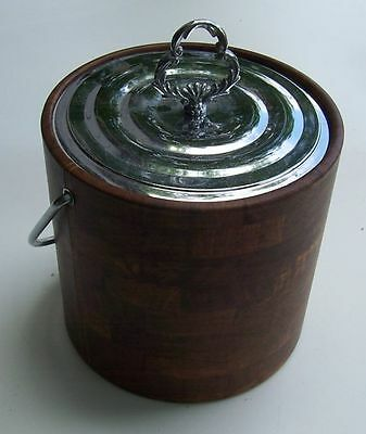 Brown Padded Ice Bucket