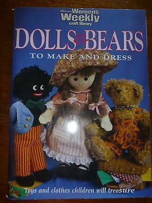 The Australian Womens Weekly Craft Library-Dolls & Bears To Make & Dress