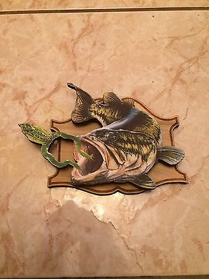 Largemouth Bass Fish plaques