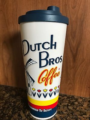 DUTCH BROTHERS- 16 fl ozs classic Dutch's style tumbler $22